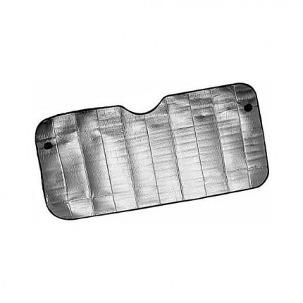 Osobní automobily - Clona sluneční na čelní sklo ALU 130 x 60cm