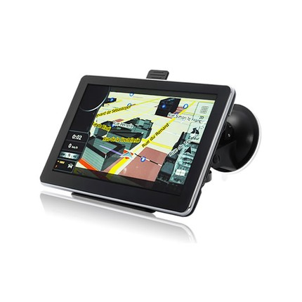 """TIR, BUS a karavan - 7.0"""" GPS navigace pro kamion s bluetooth, Truck / TIR, DS701-TB"""