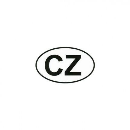 Osobní automobily - Samolepka CZ malá vnější