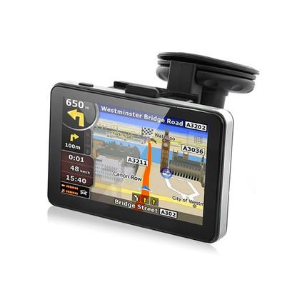 """TIR, BUS a karavan - 5.0"""" GPS navigace pro kamion s bluetooth, Truck / TIR, DS502-TB"""