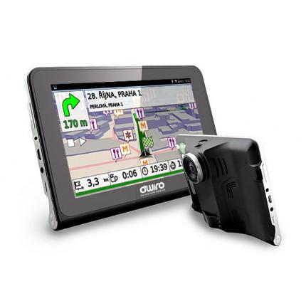 "TIR, BUS a karavan - 7.0"" OWIRO GPS navigace pro kamiony + wifi + kamera + detektor radaru OW780"