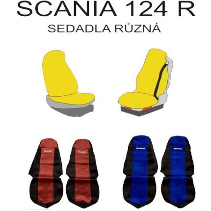 TIR, BUS a karavan - Potah sedačky Scania 124 R potah č. 39