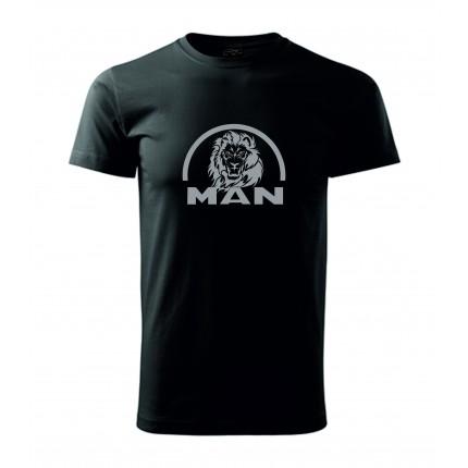 TIR, BUS a karavan - Tričko - MAN lion new (různé barvy)