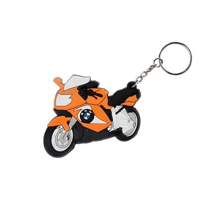 Motocykly, skútry - Klíčenka - BMW  / oranžová