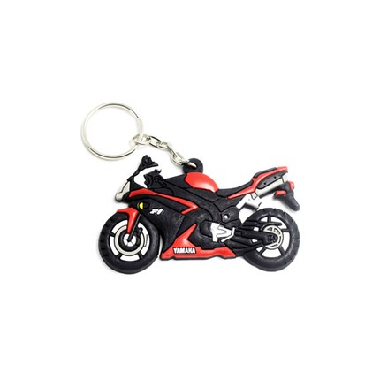 Motocykly, skútry - Klíčenka - Yamaha R1 / červená