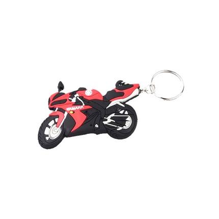 Motocykly, skútry - Klíčenka - Yamaha / červená