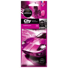 Osvěžovač Aroma CAR CITY CARD BUBBLE GUM