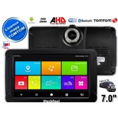 GPS navigace XtechNavi G7065ANTT 7,0″ tablet, 16GB, FHD kamera TOMTOM