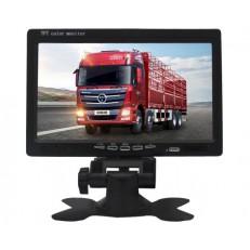 Barevný LCD 7,0″ monitor, 12-24V