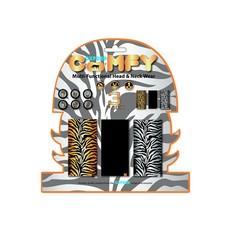 Sada 3 multifunkčníchí šátků Oxford Comfy Tiger